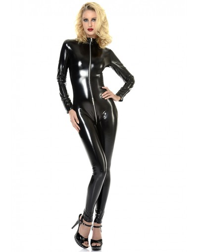 Sweety bodysuit vinile nero     Patrice Catanzaro